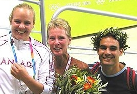 2004 Olympic bronze with Blythe and Strachan