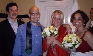 Strachan's wedding in 2007, 6 weeks before we lost him