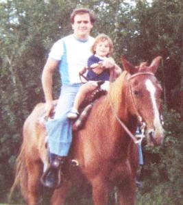 No clue where we got the horse