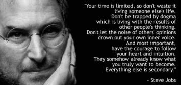 Thanks Steve Jobs, billionaire.