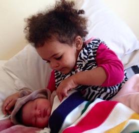 Big sister duties