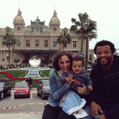Ironically, we spent the exact same day people-watching the rich and famous at the Monte Carlo Casino in Monaco.